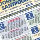 Raamposter Dorpsfeest Santpoort 2021